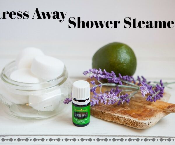 Homemade Stress Away Shower Steamers
