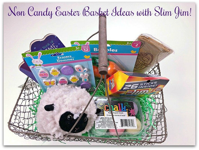 Non-Candy Easter Basket Ideas with Slim Jim!