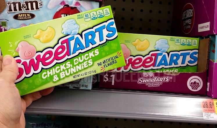 SweeTarts Easter Basket Candy 75¢ After Cash back