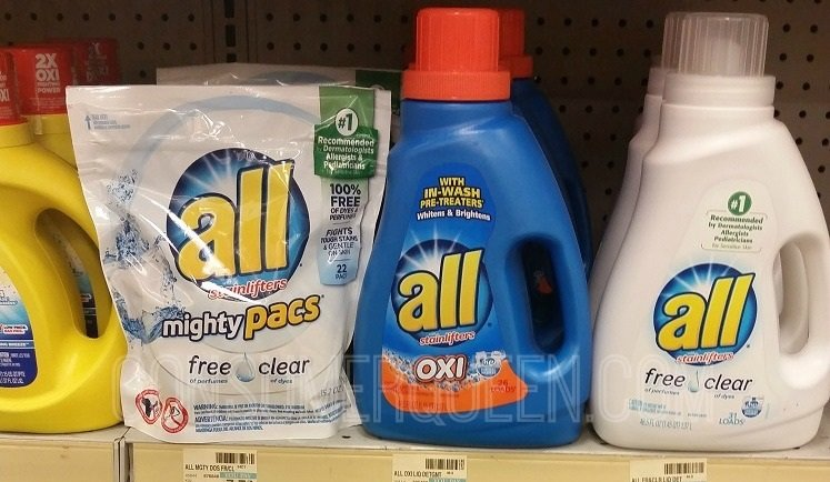 All Detergent Only $1.99 at Walgreens and CVS This Week!