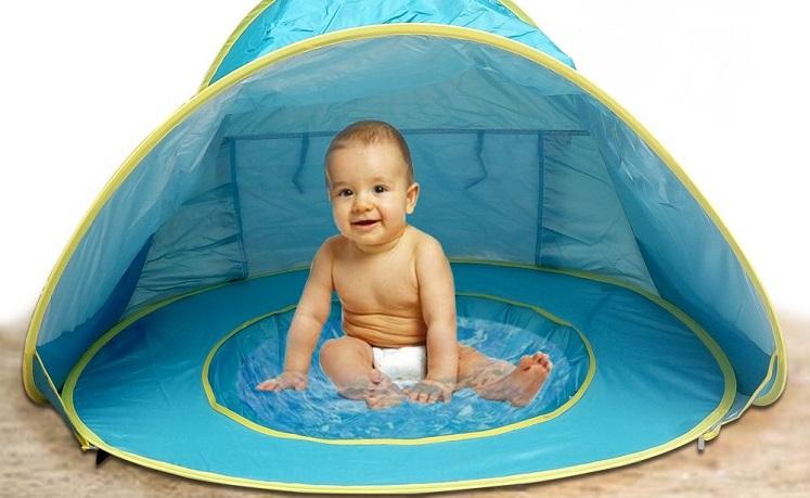 Amazon Lebe Baby Beach Tent W Popup Pool 16 49 W Promo Code