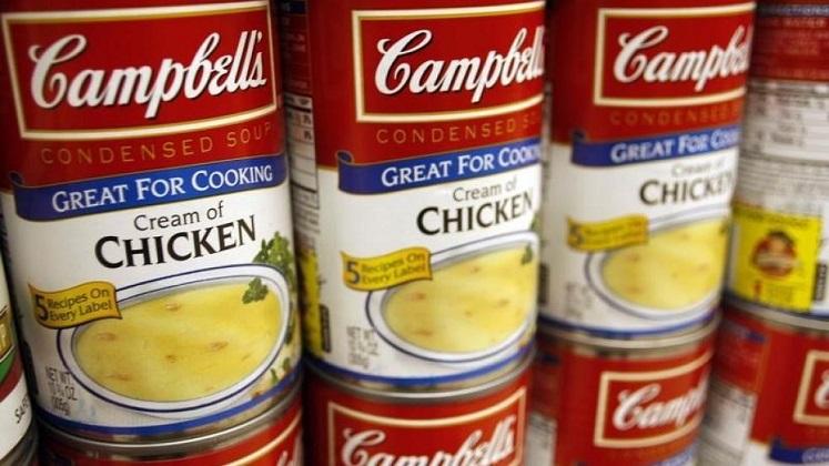 Campbell's Cream of Mushroom Soup 79¢ at Homeland