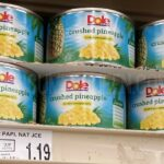 Dole Crushed Pineapple 86¢ Each at Homeland & Country Mart