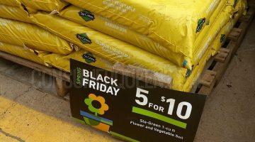 Lowe's Spring Black Friday Sale – $2 Sta-Green Garden Soil + More!