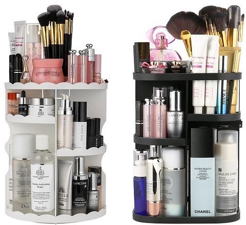 Jerrybox 360° Rotating Multi-Level Cosmetic Organizer Just $12.34