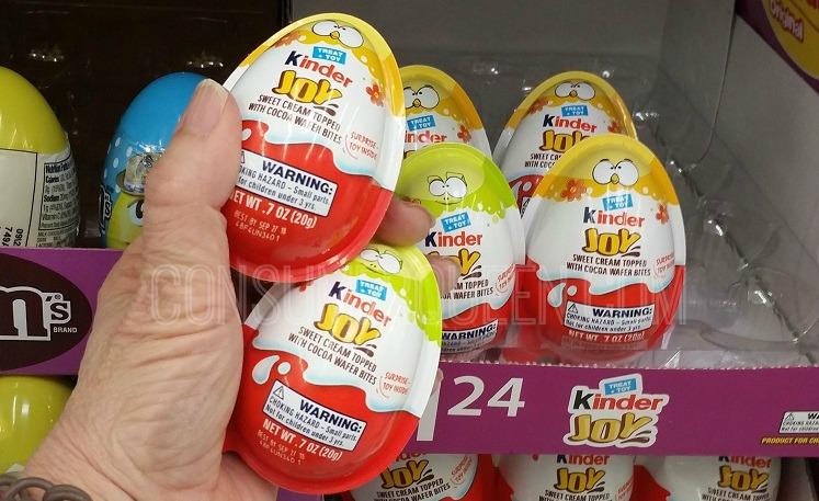 Kinder Joy Eggs Only 55¢ at Target, 74¢ at Walmart