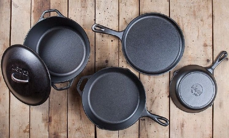 Lodge 5-Piece Pre-Seasoned Cast Iron Cookware Set Just $63.45 Shipped