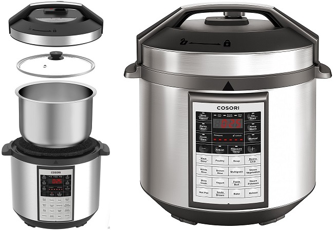Cosori 8-in-1 Multi-Cooker $59.99 (Today Only) on Amazon