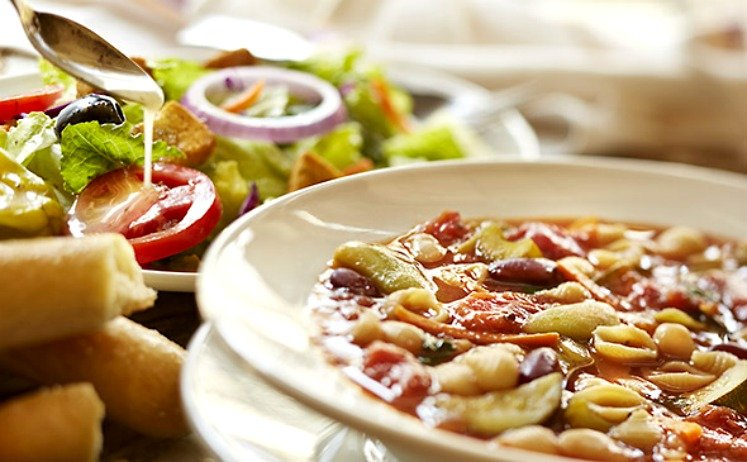 Unlimited Soup, Salad & Breadsticks Lunch Only $6.99 at Olive Garden