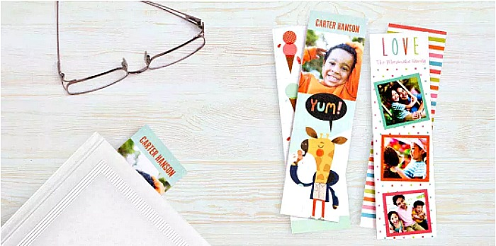 FOUR Free Personalized Bookmarks at Walgreens (In-Store Pickup)