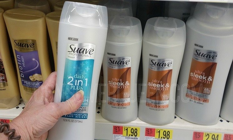 suave hair care professionals 46¢ at Walmart