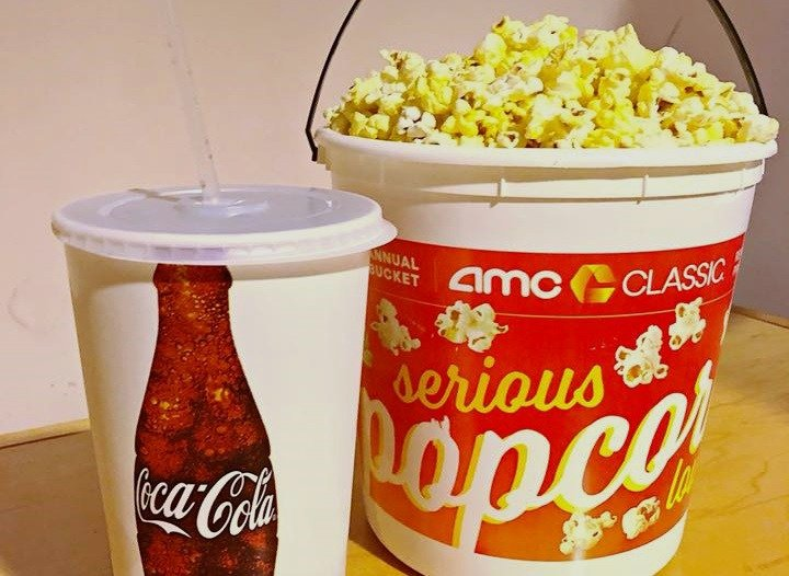 photo regarding Amc Printable Coupons identify Totally free AMC Popcorn, Video Ticket Further more With My Coke Benefits