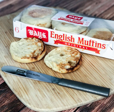 California Club English Muffin Sandwich With Bays English Muffins