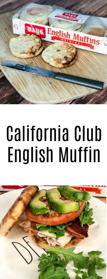 California Club English Muffin Sandwich - With Bays English Muffins