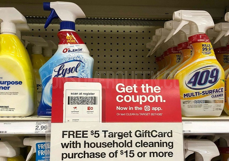 Great Buys on Lysol Cleaning Products at Target – Today Only