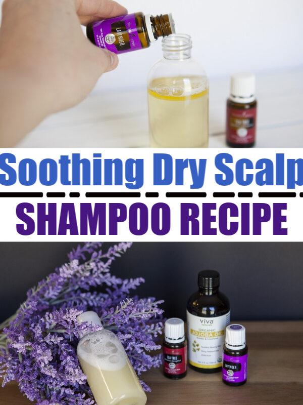 Soothing Dry Scalp Shampoo Recipe