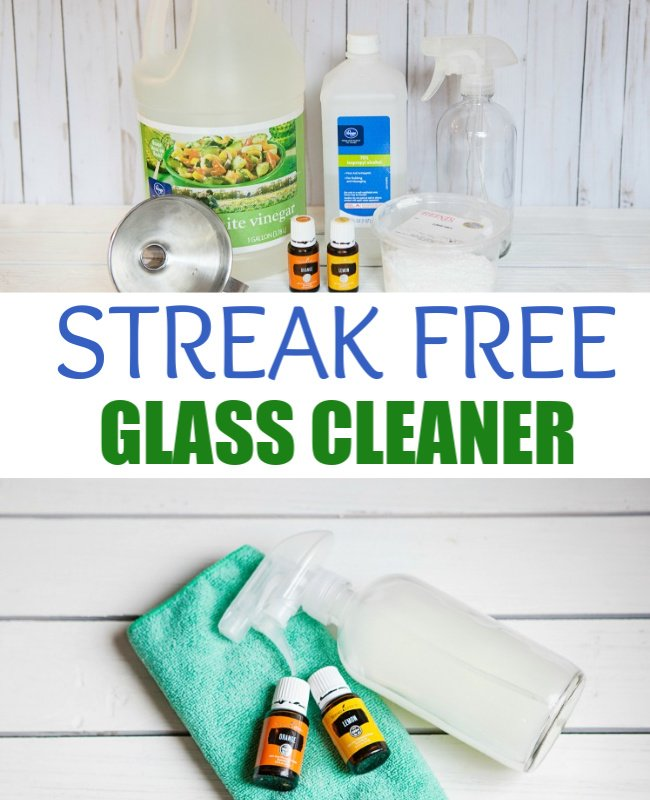 Make Your Own Streak Free Glass Cleaner
