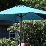 Auto Crank Aluminum Patio Umbrella $21.99 (Reg. $49!)