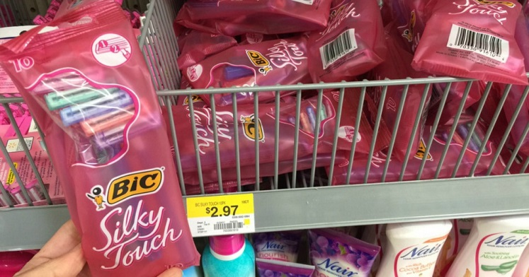 FREE Bic Silky Touch Disposable Razors at Walmart