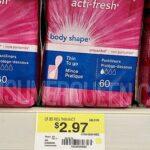 Carefree Pantiliners 60-ct. PLUS $5 Walmart eGift Card Only $2.47!