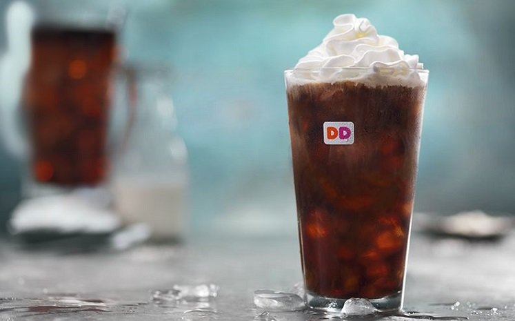 FREE Cold Brew Coffee Sample at Dunkin' Donuts April 6th