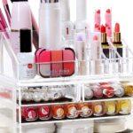Amazon: Dicesnow Clear Acrylic Makeup Organizer $12.90