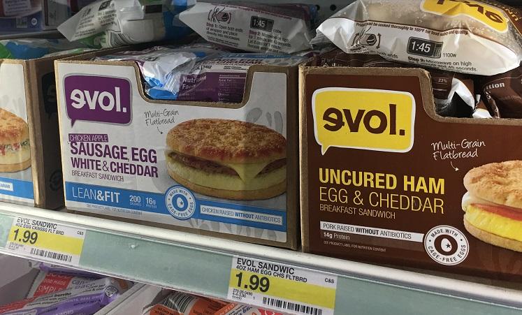 evol breakfast sandwiches