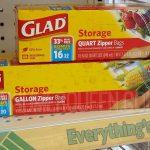 Score Bonus Buy Glad Storage Bags at Dollar Tree!