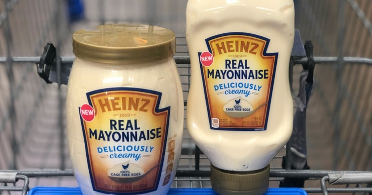 FREE Heinz Real Mayo at Walmart After Cash Back