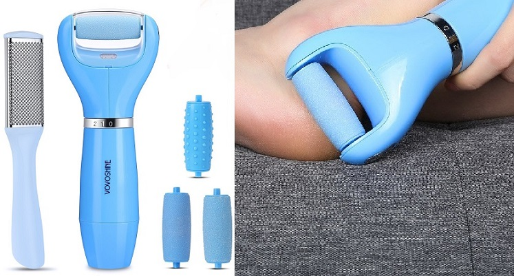 Amazon: Electronic Pedicure Foot File Only $13.19