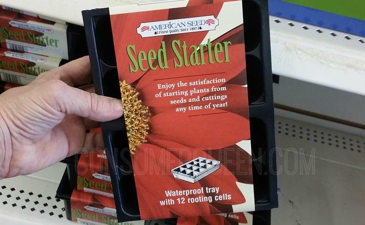 vegetable seeds - seed starter kits