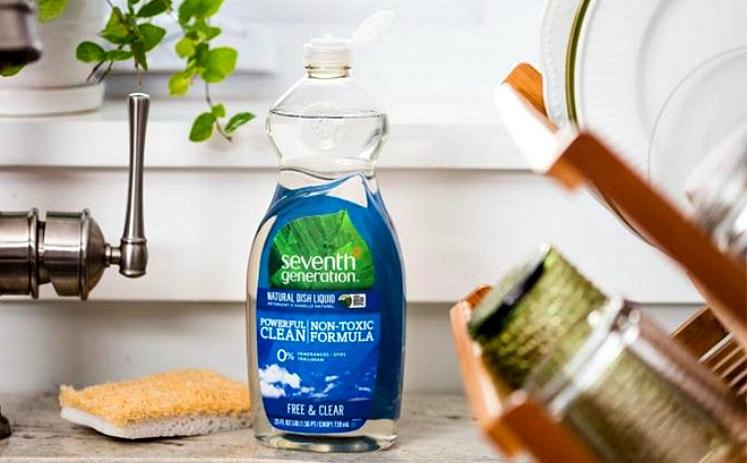 35% Off Seventh Generation – 12 pk Dish Soap $22.16 ($1.85 each)