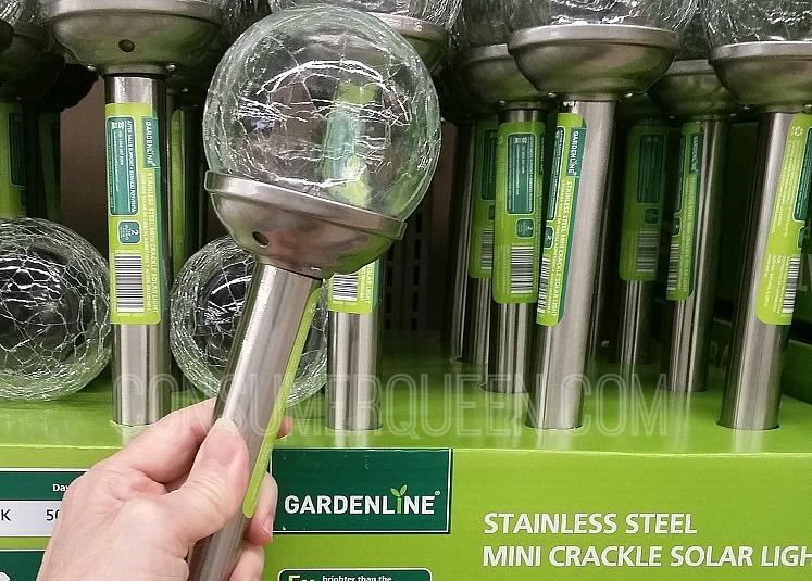 Garden Trellis and Solar Lights - Great Buys at Aldi