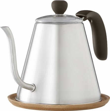 Caribou Coffee 34oz Stainless Steel Kettle $9.99 – Today Only