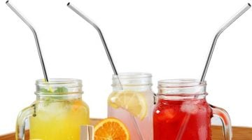 Amazon: XCHEF Stainless Steel Straws Set of 6 Only $7.99