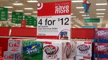 12-pack Soda as Low as $2.17 at Target This Week