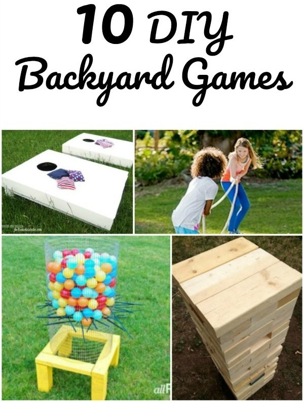 10 DIY backyard games