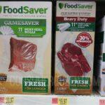 FoodSaver Heat-Seal Roll 6-pk $29.97 (Reg. $39.97) at Walmart
