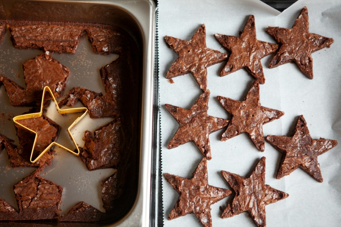 Star Spangled Brownie Sandwiches cut out