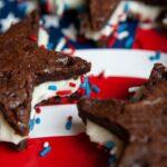 Star Spangled Brownie Sandwiches