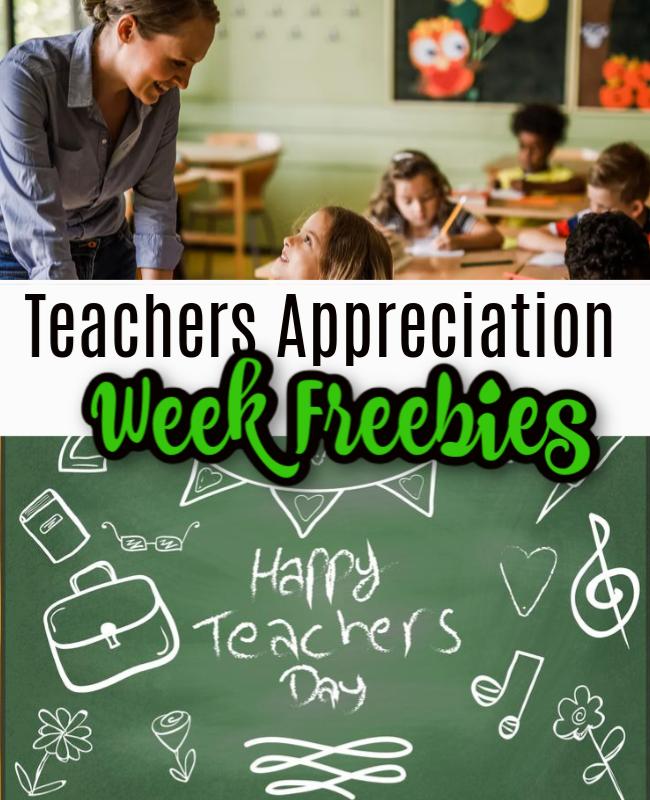 Teacher Appreciation Week Freebies and Offers 2021!