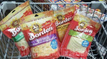 Borden Shredded Cheese & Natural Slices $1.00 at Homeland