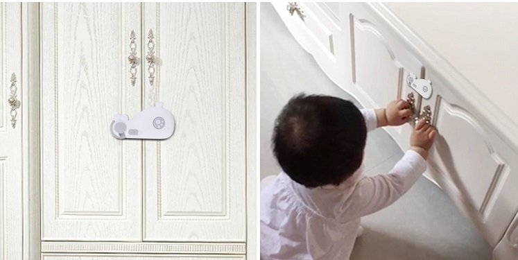 Amazon: XREXS 4-Piece Child Safety Locks Only $7.99