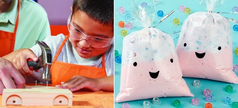 Kid's Workshops Coming to Home Depot & Michael's
