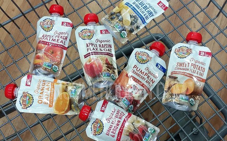 Earth S Best Organic Baby Food Under 1 At Walmart