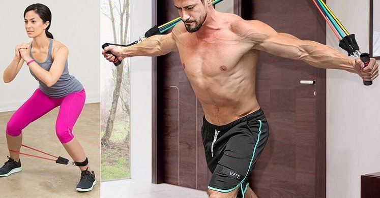 Amazon: INTEY Resistance Band Exercise Set $7.98 W/Promo Code