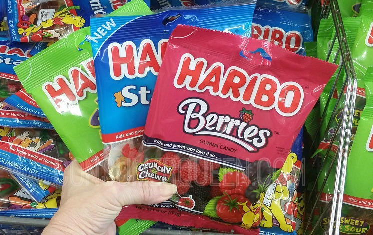 Haribo Gummys Only 67¢ Each at Dollar Tree w/New Coupon