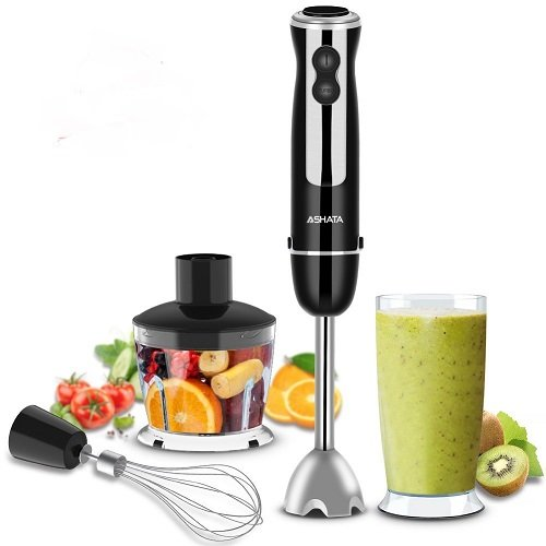 Amazon: 4 in 1 Immersion Blender with Food Processor $19.39