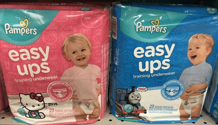 Pampers Easy-Ups as Low as $3.33 After Cash Back at CVS!