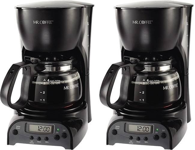 Best Buy Mr Coffee 4 Cup Programmable Coffeemaker 14 99 Today Only 5 2